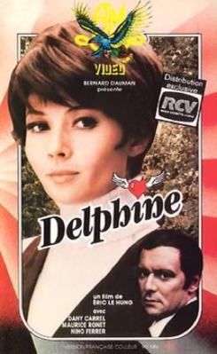 Delphine - Jaquette VHS France