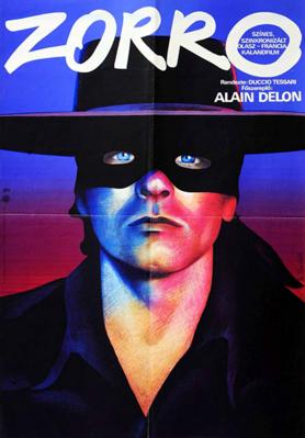 Zorro - Poster - Hungary