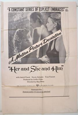Claude et Greta (Les liaisons particulières) - Poster Etats-Unis