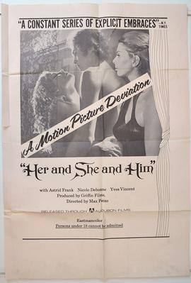 Her and She and Him / Anytime Anywere - Poster Etats-Unis
