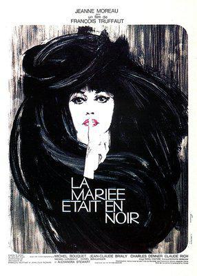 黒衣の花嫁 - Poster France
