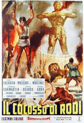 The Colossus of Rhodes - Poster - Italie