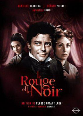 Rouge et Noir / Scarlet and Black - Jaquette DVD France