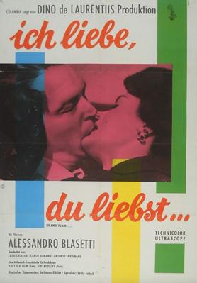 Yo amo, tú amas - Poster - Germany