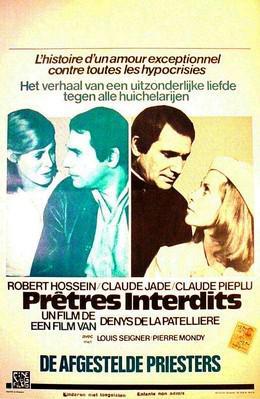 Prêtres interdits - Poster Belgique