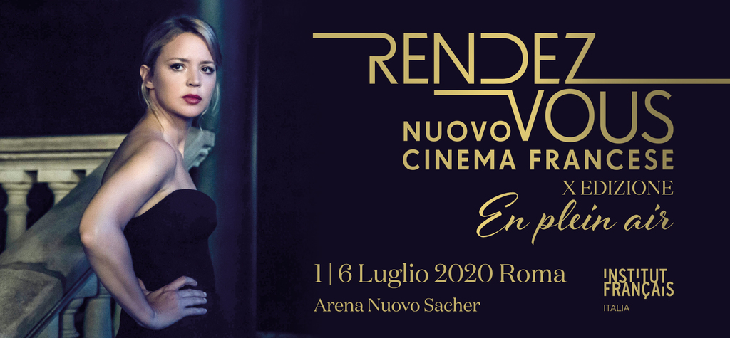 10th Rendez-Vous with New French Cinema in Rome to be an open-air event!