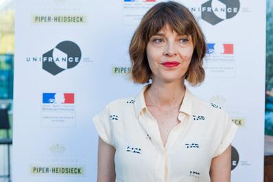 A large French delegation at the Locarno Film Festival - Axelle Ropert - © Ivana De Maria / UniFrance