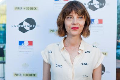 Impresionante delegación francesa en el Festival de Locarno - Axelle Ropert - © Ivana De Maria / UniFrance