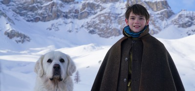 A French dog bounds into the Italian box office!