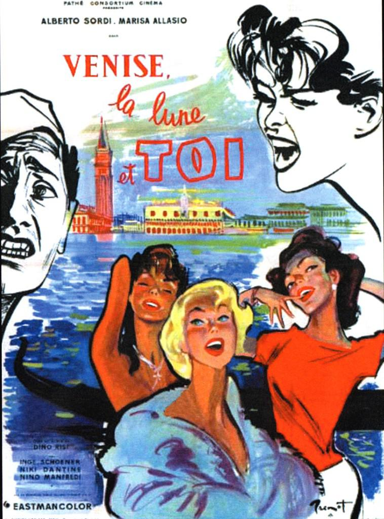 Venise, la lune et toi