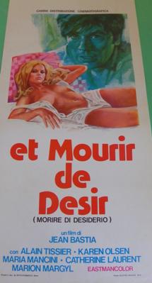 ... et mourir de désir - Poster Italie
