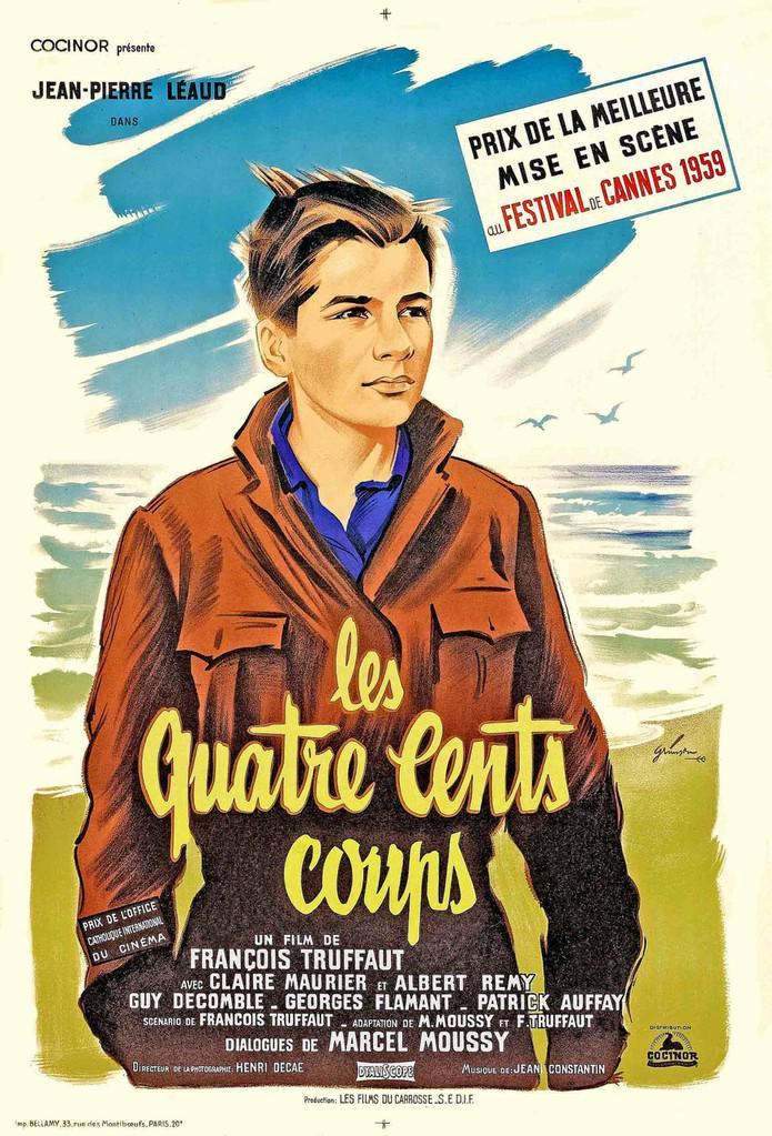 Les quatre cents coups 1959 unifrance films - Les 400 coups bande annonce ...