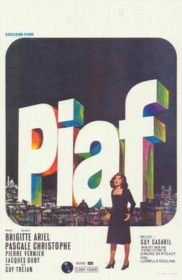 Una voz llamada Edith Piaf - Poster Belgique