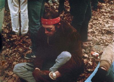 Dix minutes de silence pour John Lennon - © Raymond Depardon/Magnum Photos