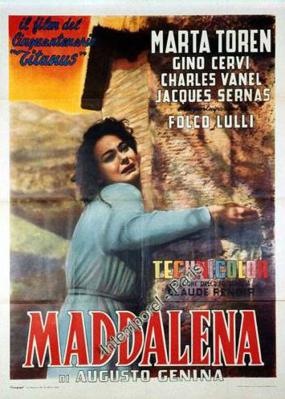 Une fille nommée Madeleine - Poster Italie