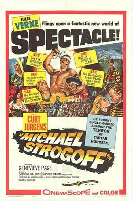 Michel Strogoff - Poster Etats-Unis