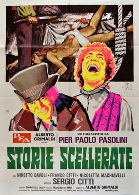 Histoires scélérates - Poster - Italie