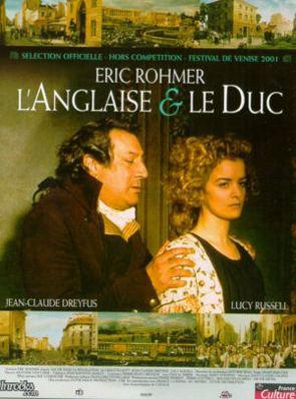 La Inglesa y el duque - Poster France