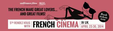 Rendez-Vous With French Cinema au Royaume-Uni - 2014