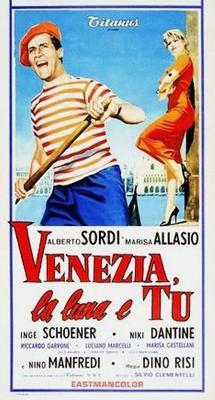 Venise, la lune et toi - Poster Italie