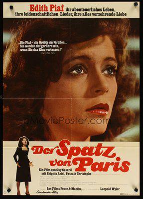 Una voz llamada Edith Piaf - Poster Allemagne