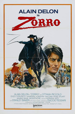 El Zorro - Poster - English