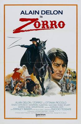 Zorro - Poster - English