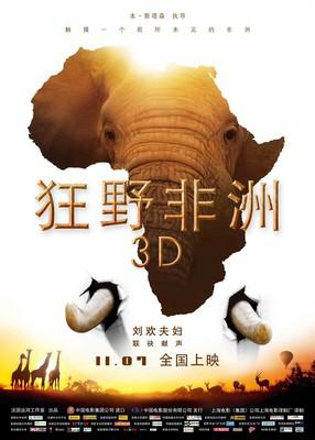African Safari 3D - Poster - Chine