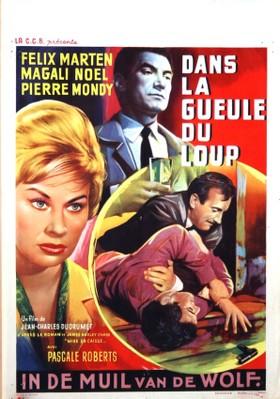 Dans la gueule du loup - Poster Belgique