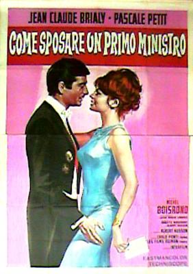 Cómo casarse con un primer ministro - Poster Italie