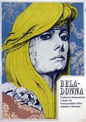 Bella de día - Poster Pologne