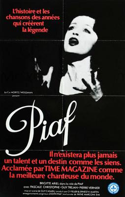 Piaf: The Early Years - Poster Québec