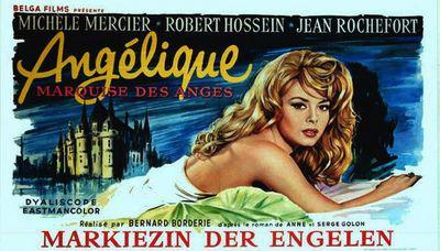 Angélique - Poster Belgique