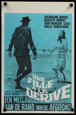 La Dérive - Poster Belgique