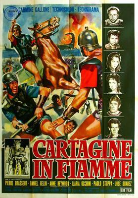 Carthage en flammes - Poster Italie