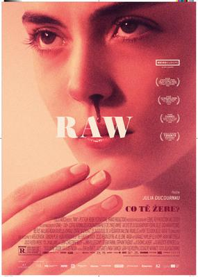 Raw - Poster - Czech Republic
