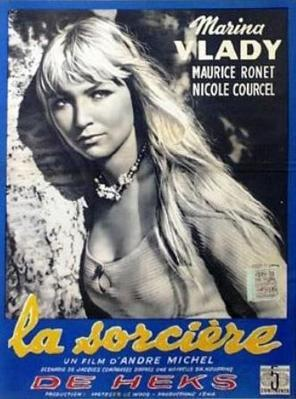 The Blonde Witch / The Sorceress - Poster - Belgium