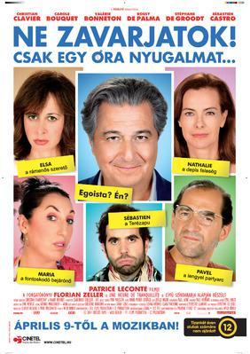 Une heure de tranquillité - Poster - Hungary