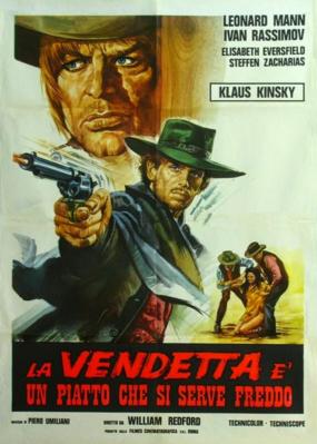 La Vengeance est un plat qui se mange froid - Poster - Italy