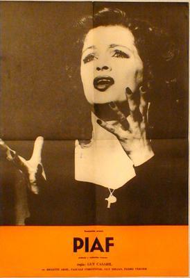 Una voz llamada Edith Piaf - Poster Roumanie