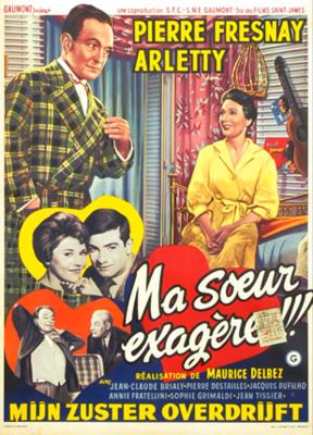 Et ta soeur ? - Poster Belgique