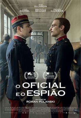El oficial y el espía - Brazil
