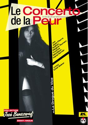 La Drogue du vice (ou Le Concerto de la peur) - Jaquette DVD France