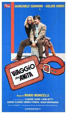 Voyage avec Anita - Poster - Italy
