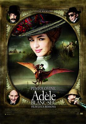 The Extraordinary Adventures of Adèle Blanc-Sec - Affiche Croatie