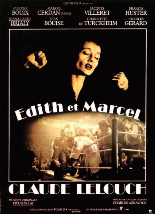 Edith et Marcel - Poster France