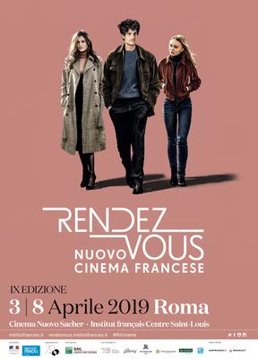 Rendez-vous avec le nouveau Cinéma français à Rome - 2019