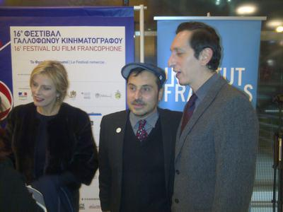Les Combattants et La Famille Bélier récompensés à Athènes - Karin Viard, Panos Koutras et Stéphane Foenkinos
