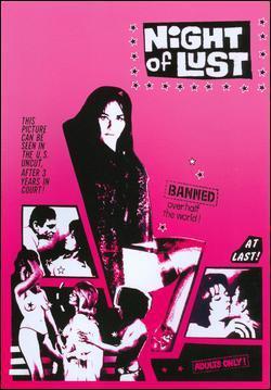 Night of Lust - Poster Etats-Unis