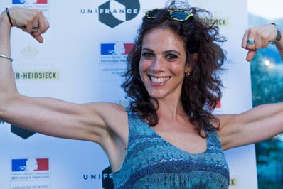 Impresionante delegación francesa en el Festival de Locarno - Caroline Deruas - © Ivana De Maria / UniFrance